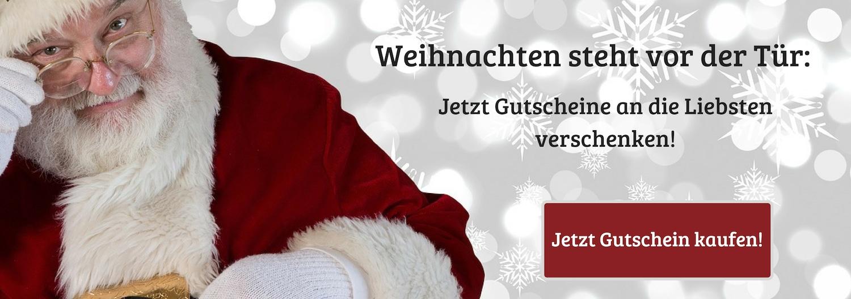 Weihnachten Gutscheine kaufen