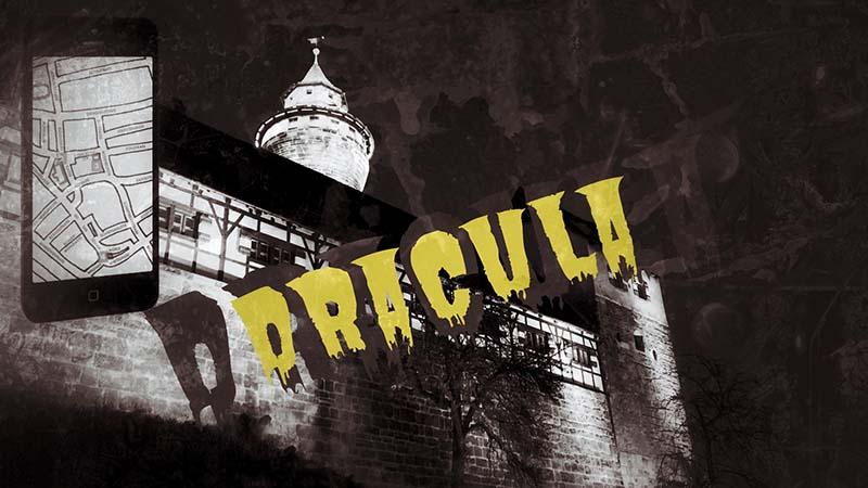 Dracula Smartphone Stadtrallye Nürnberg