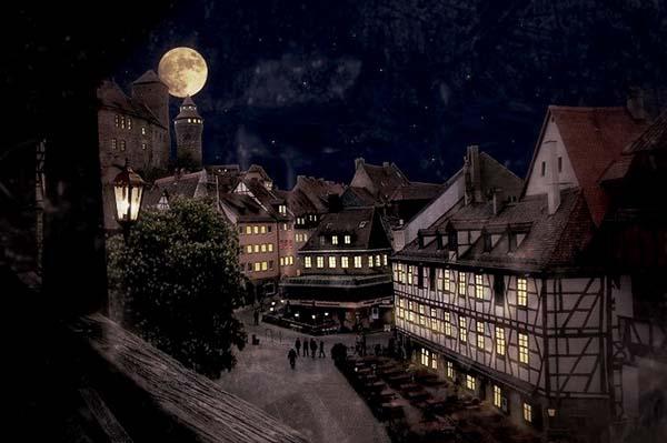 Dracula in Nürnberg Stadtrallye